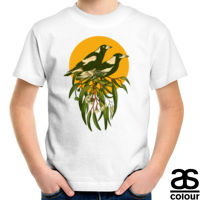 Magpies Kids Organic Fairtrade Crew Tee Thumbnail