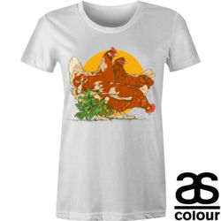 Chickens Maple Tee  Thumbnail